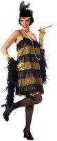 California Costumes California Costume Women's Adult-Jazz Time Honey, Black/Gold, S (6-8)