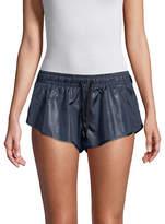 Ivy Park Wet Look Shorts