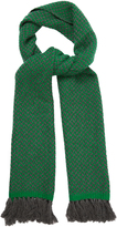Etoile Isabel Marant Alena tassel-trimmed herringbone scarf