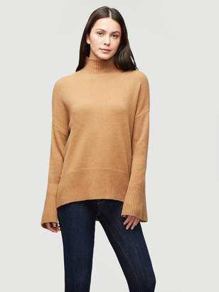 Frame Sustainable Cashmere High Low Turtleneck