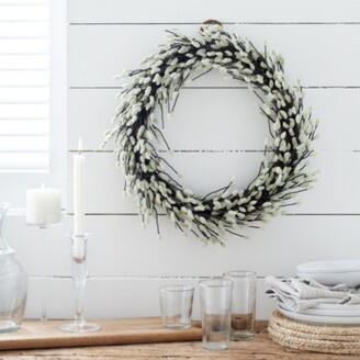 The White Company Pussy Willow Wreath , Multi, One Size