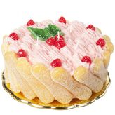 Designers Guild Strawberry Savoiardi Cake Candle Decoration