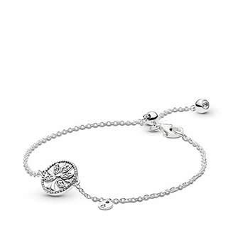 Pandora Women Silver Hand Chain Bracelet 597776CZ-16