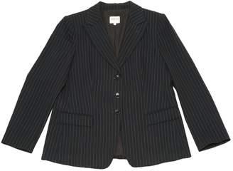 Armani Collezioni Navy Wool Jackets