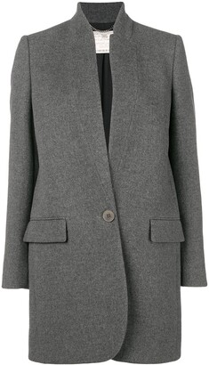 Stella McCartney Bryce single-breasted coat