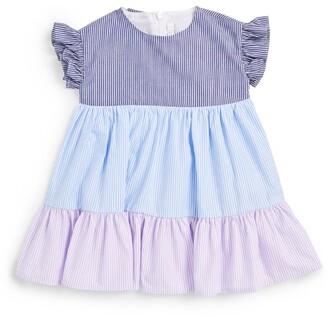 Il Gufo Striped Dress (9-36 Months)