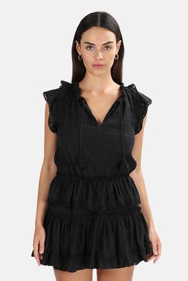 MISA Coal Black Lilian Dress