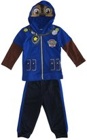 Nickelodeon Little Boys Paw Patrol Hoodie Mask 2 Pc Pant Set