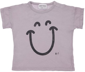 Bobo Choses Smile Print Organic Cotton T-Shirt