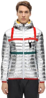 Research Hooded Nylon Down Jacket