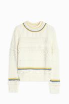 Paul & Joe Sister Cable Knit Crew Neck Sweater