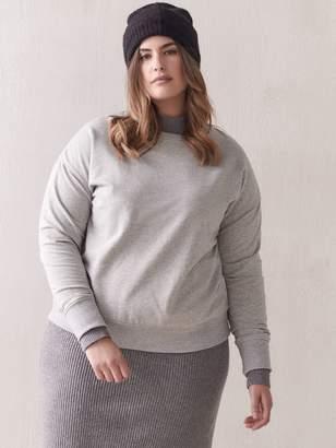 French Terry Grey Sweatshirt - Addition Elle