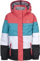 Trespass Childrens Girls Tesha Hooded Waterproof Ski Jacket