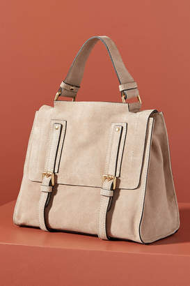Anthropologie Tatum Leather Tote Bag
