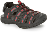 Khombu Gray & Red Jake Sandal
