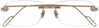 Cartier Rimless Design Glasses