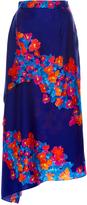 Tanya Taylor Diagonal Pop Twill June Skirt