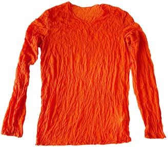 Issey Miyake Orange Polyester Tops