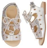 Gymboree Lace-Up Star Sandals