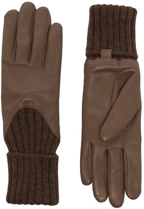Agnelle Cecilia leather gloves