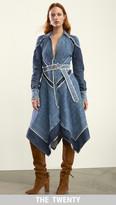 Jonathan Simkhai Denim Handkerchief Dress