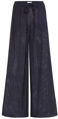 Marysia Swim Montauk cotton trousers