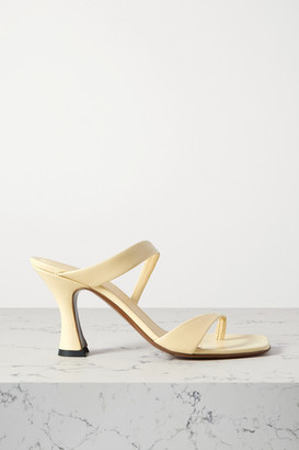 Neous Sika Leather Sandals - Pastel yellow