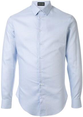 Emporio Armani Textured Effect Shirt