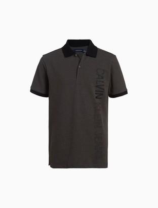 Calvin Klein Boys Oversized Logo Polo Shirt
