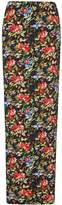 Dorothy Perkins **Tall Black Floral Maxi Skirt