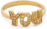 Natasha Zinko 'You' Diamond Ring