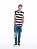 Scotch & Soda Yarn Dyed Stripe T-Shirt