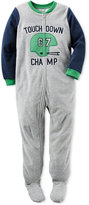 Carter's Touchdown Champ Footed Pajamas, Toddler Boys (2T-5T)
