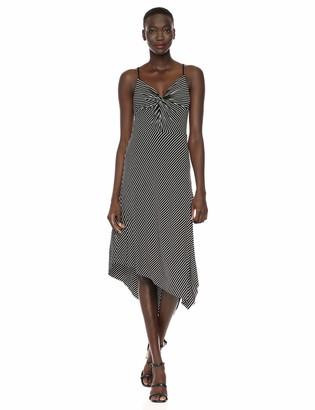 Bailey 44 Women's Paola Stripe Assymetrical Hem Dress