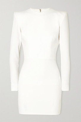 Alex Perry Kira Stretch-cady Mini Dress