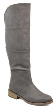 Journee Collection Vanesa Wide Calf Riding Boot