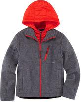 Asstd National Brand Softshell Vestee Jacket- Preschool Boys- 4-7