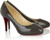 Declic 90 patent-leather pumps