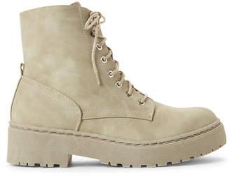 Wanted Khaki Walker Combat Boots