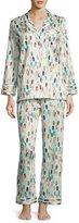 Zimmerli Glass Bead-Print Pajama Set, White Pattern