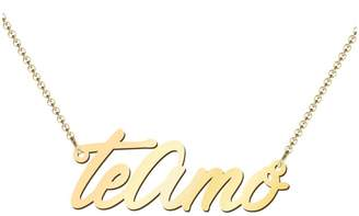 Amo Jewlr 10K Yellow Gold Te Pendant Necklace