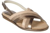 Anne Klein Galea Leather Sandal.