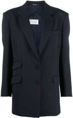 Maison Margiela Single-Breasted Blazer