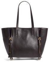 Chloé Medium Milo Calfskin Leather Tote - Black