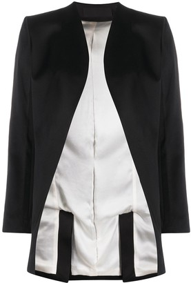 Haider Ackermann Open-Front Jacket