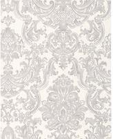 Graham & Brown Wallpaper Sample - Montague Silver