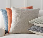 Pottery Barn Washed Diamond Pillow Cover