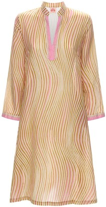 Malika Wind Cotton Voile Midi Dress