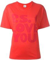 Paul Smith P.S. I love you printed T-shirt - women - Cotton - XS