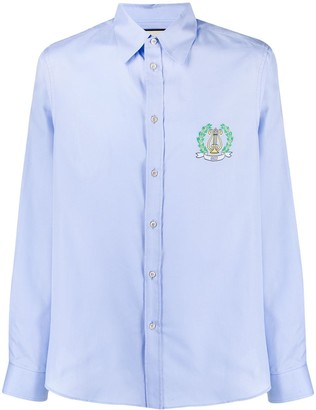Gucci Logo Embroidered Shirt